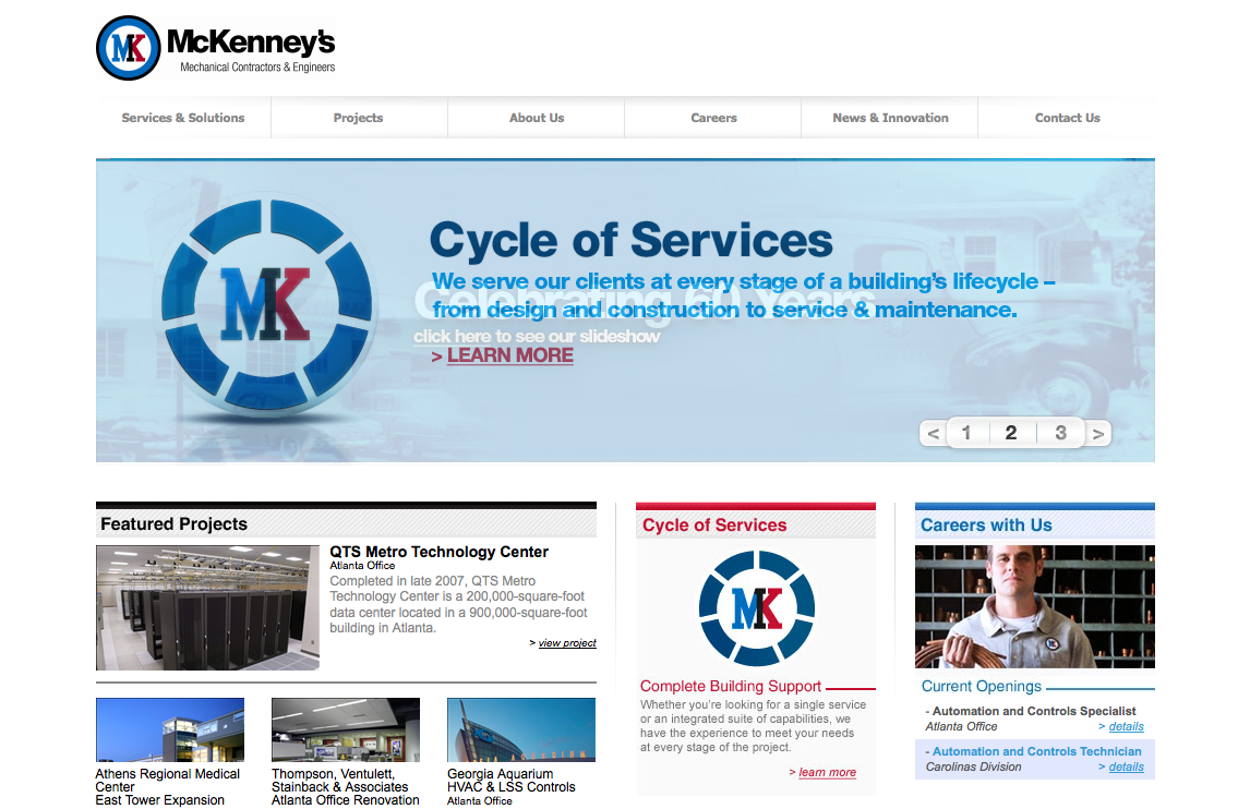 McKenney's Mechanical Contractors and Engineers - Home_1235362716461